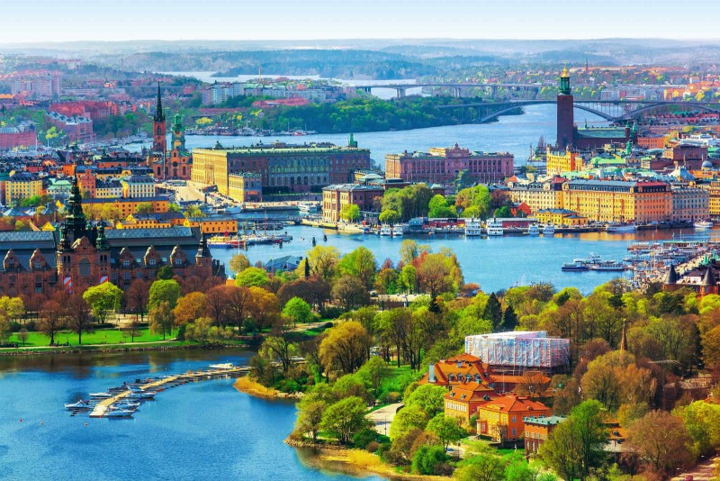 Vận chuyển hàng hóa từ Bình Dương đi Thụy Điển giá rẻ, nhanh chóng